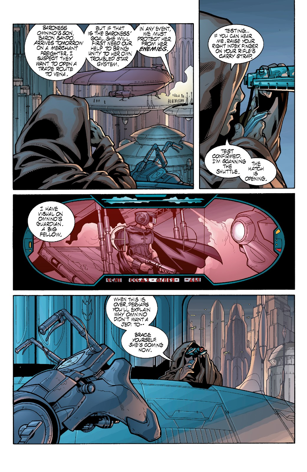 Read online Star Wars Legends: Rise of the Sith - Epic Collection comic -  Issue # TPB 1 (Part 3) - 73