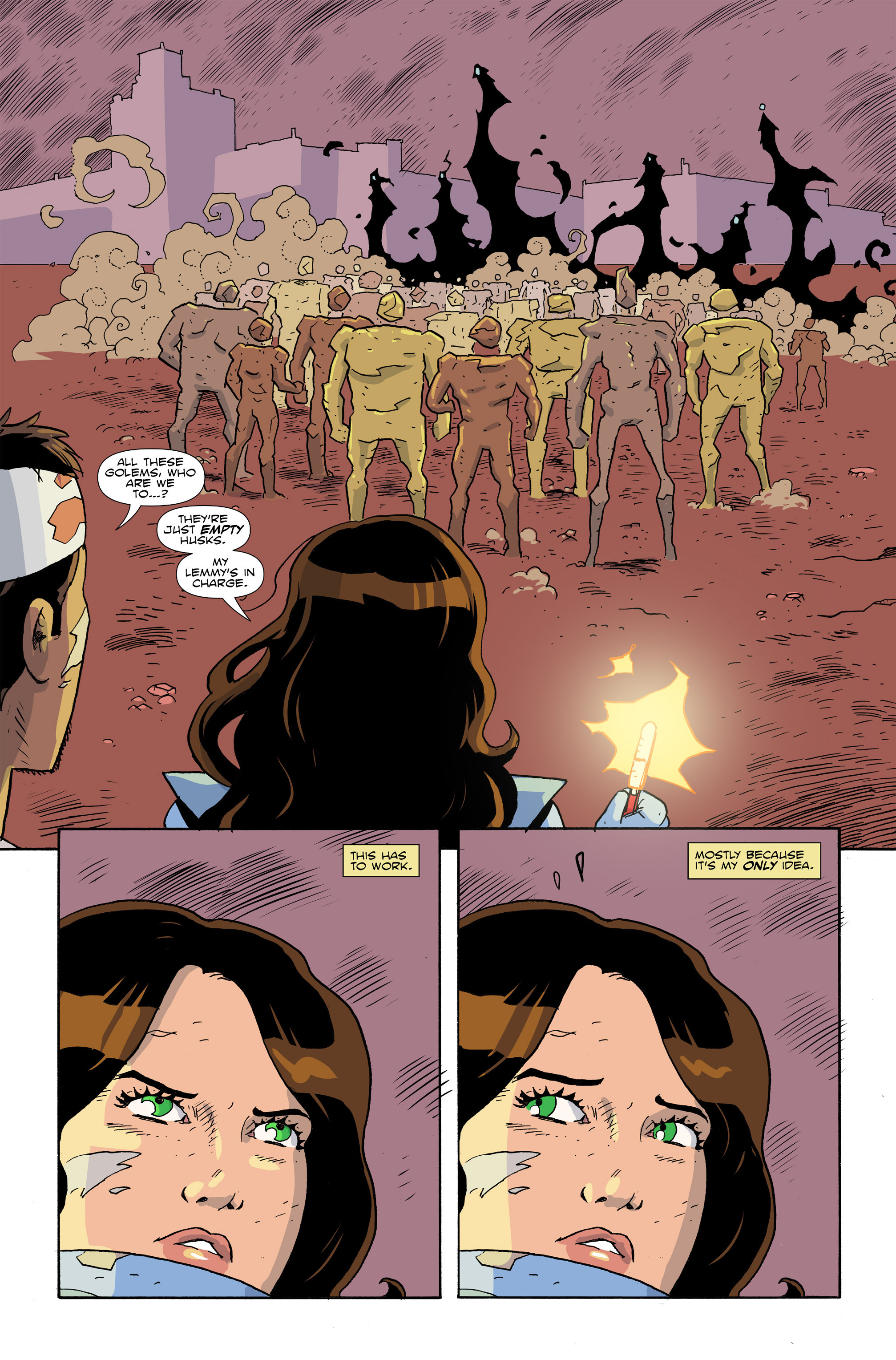 Read online Amelia Cole Versus The End of Everything comic -  Issue #28 - 4