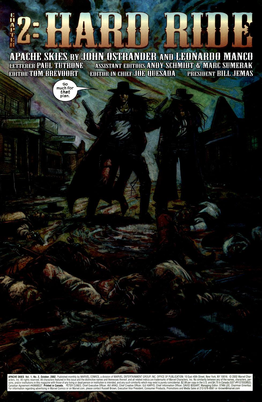 Read online Apache Skies comic -  Issue #2 - 6