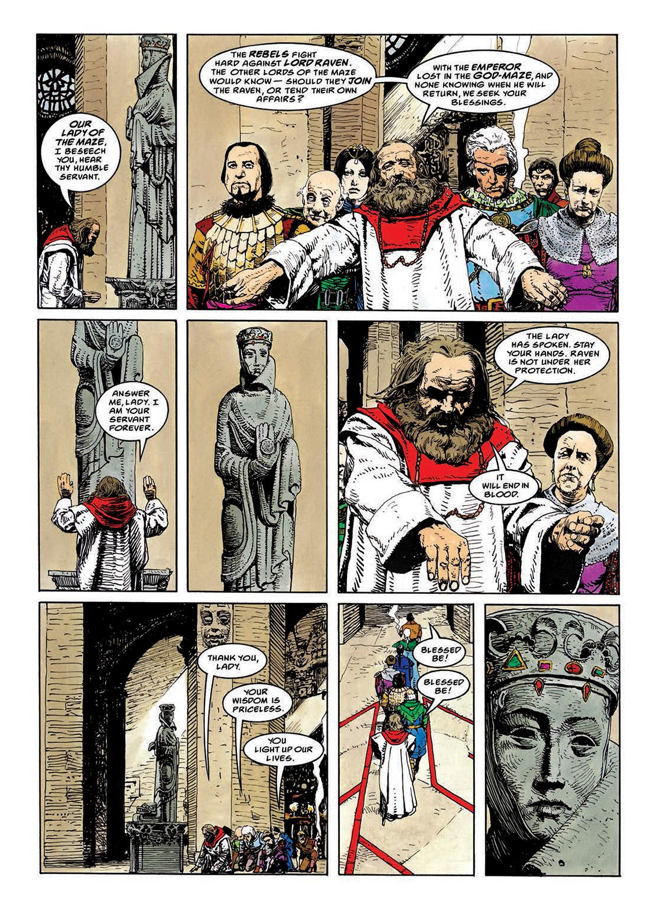 Read online Mazeworld comic -  Issue # TPB - 69