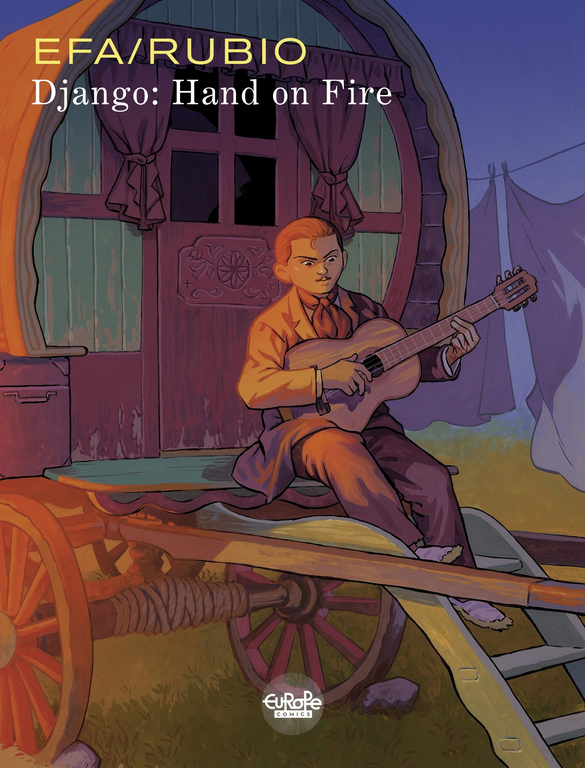 Django: Hand On Fire TPB Page 1