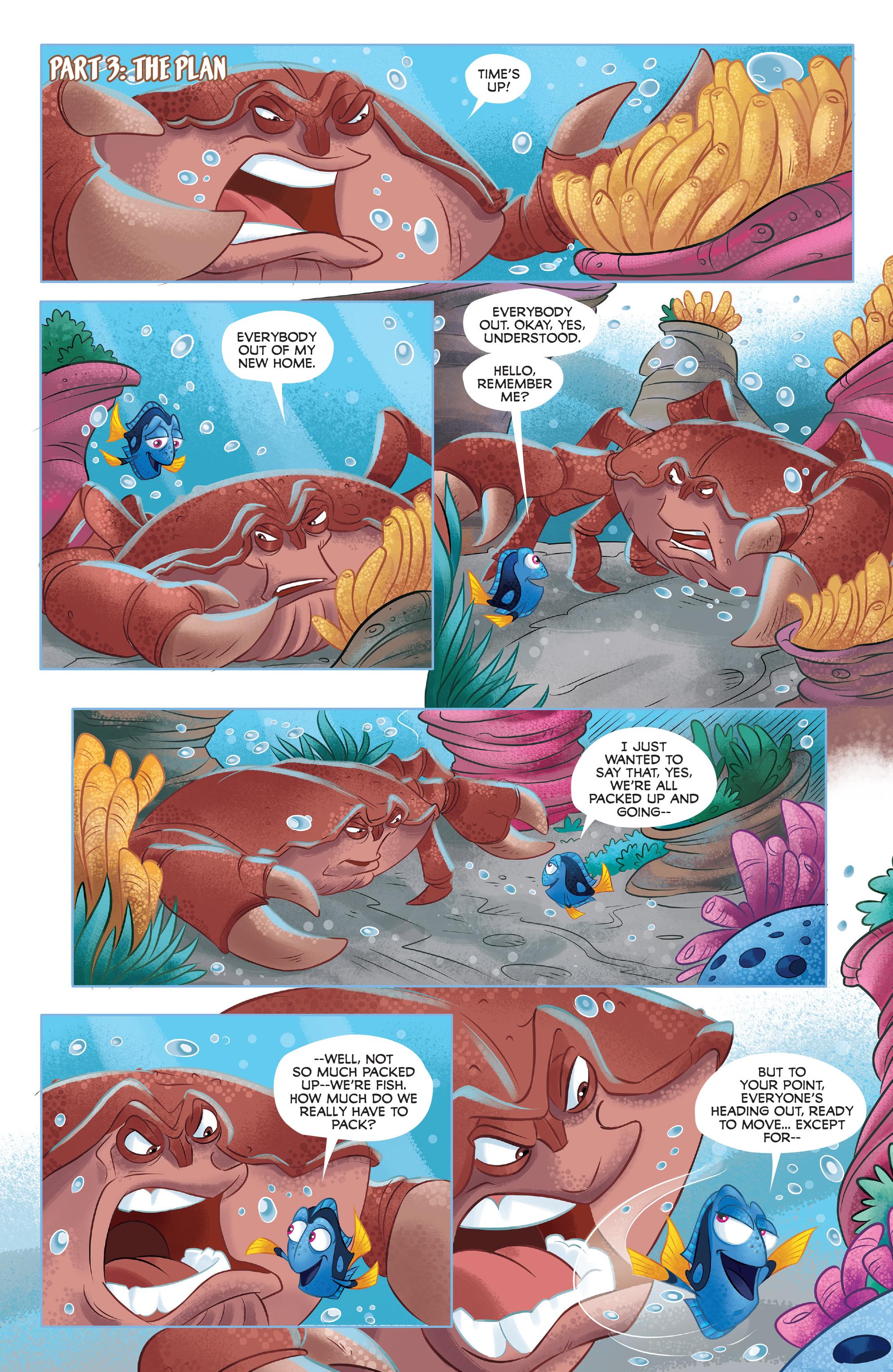 Read online Disney Pixar Finding Dory comic -  Issue #3 - 16