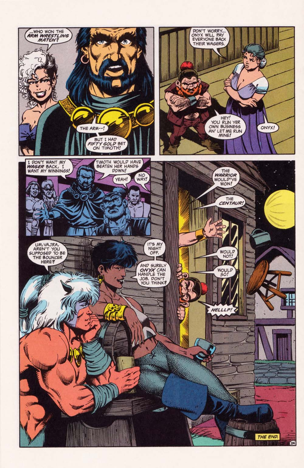Read online Advanced Dungeons & Dragons comic -  Issue #33 - 24