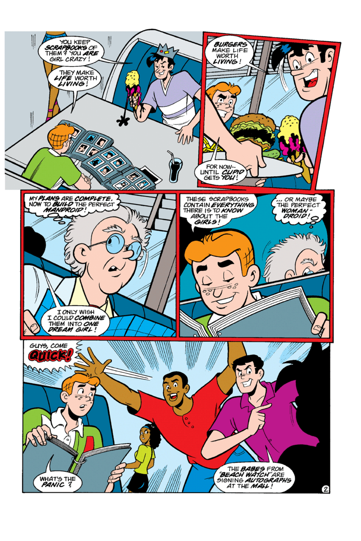 Read online Archie's Weird Mysteries comic -  Issue #9 - 4