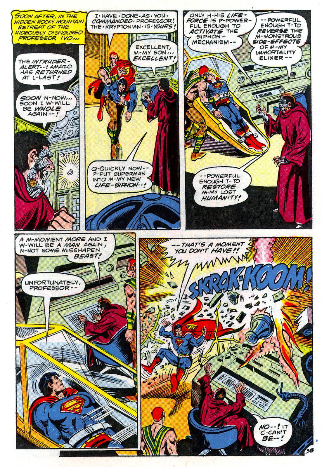 Read online Superman Special (1983) comic -  Issue #3 - 39