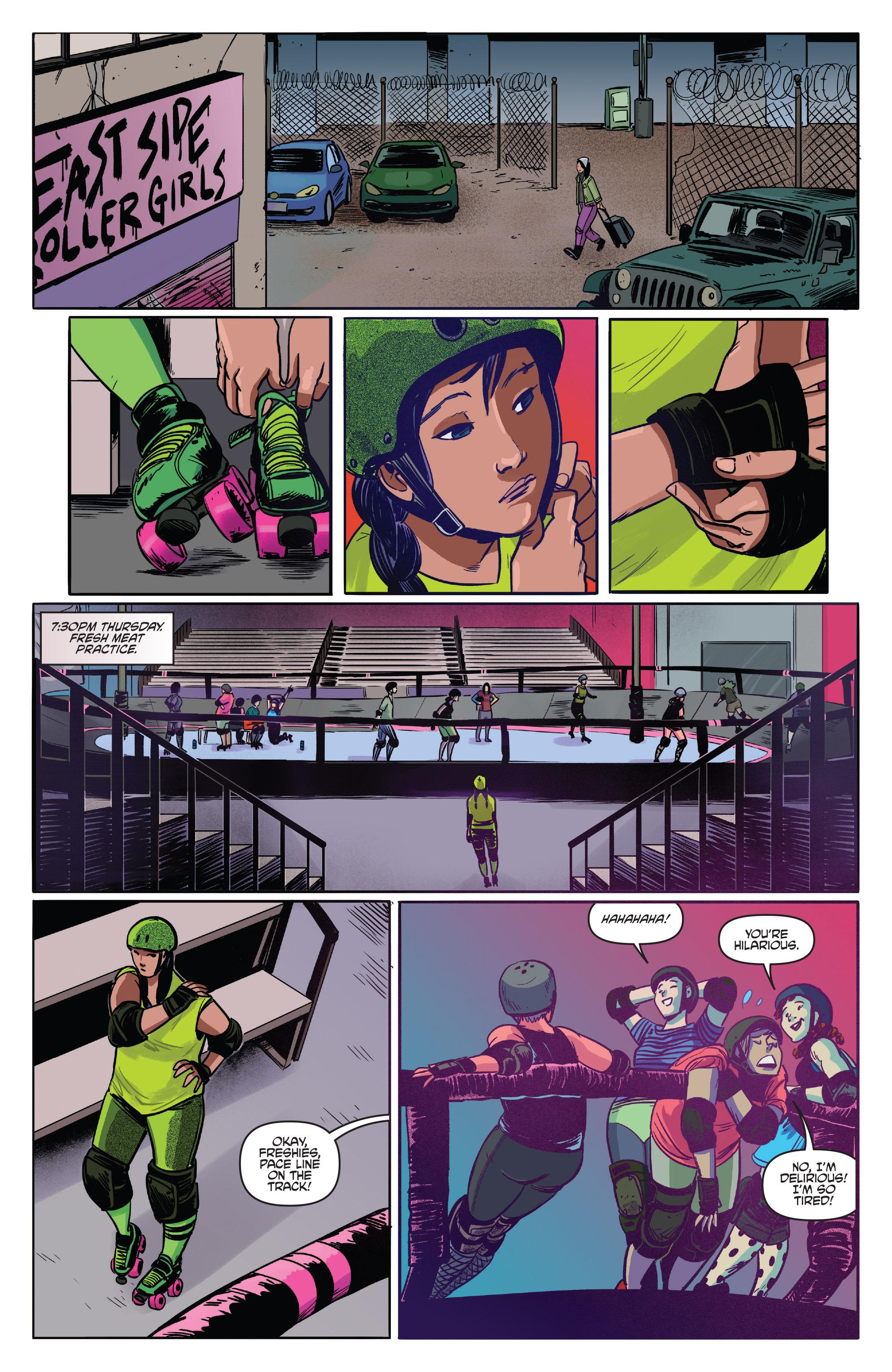 Read online Slam! comic -  Issue #3 - 13