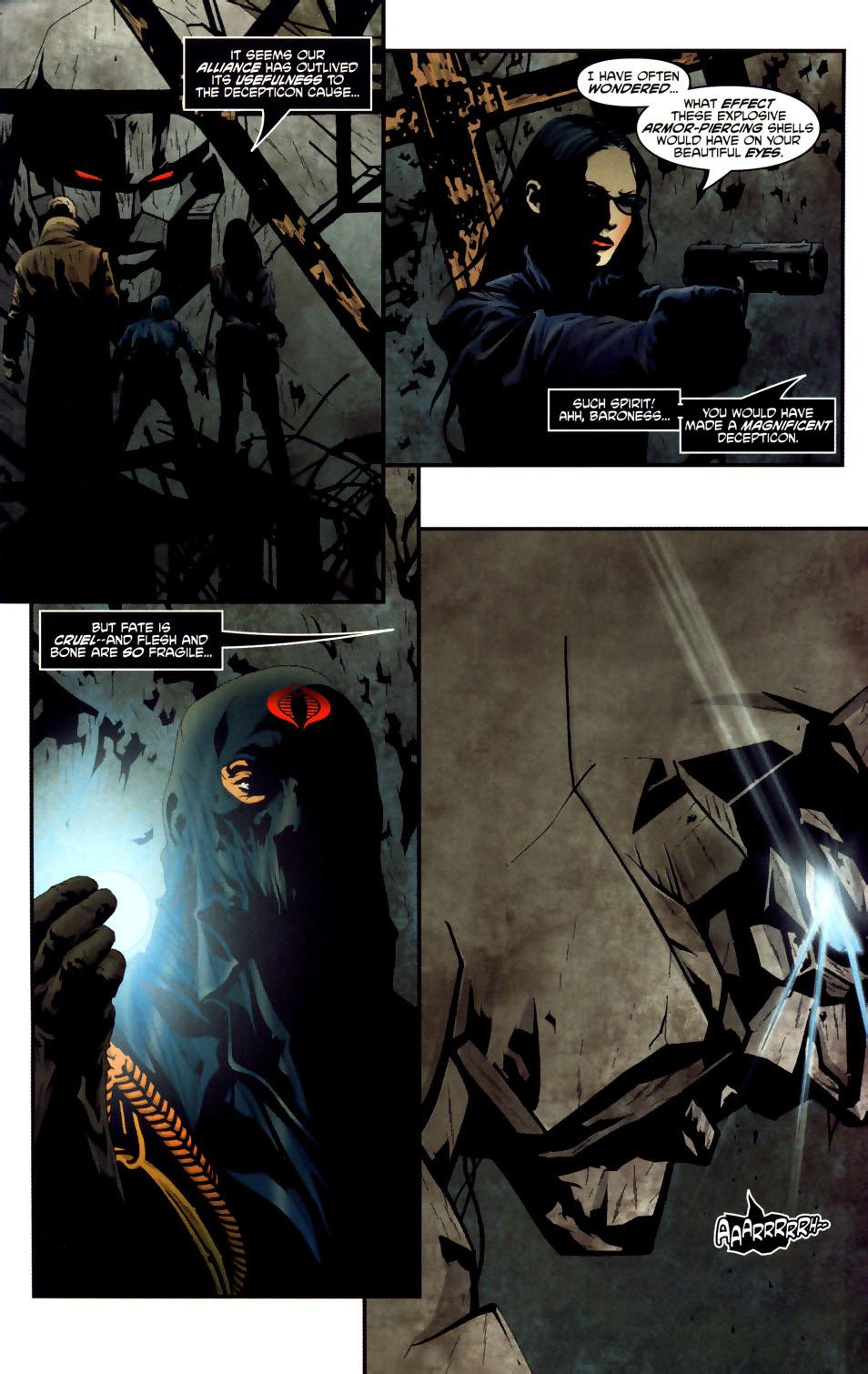 Read online Transformers/G.I. Joe comic -  Issue #3 - 10