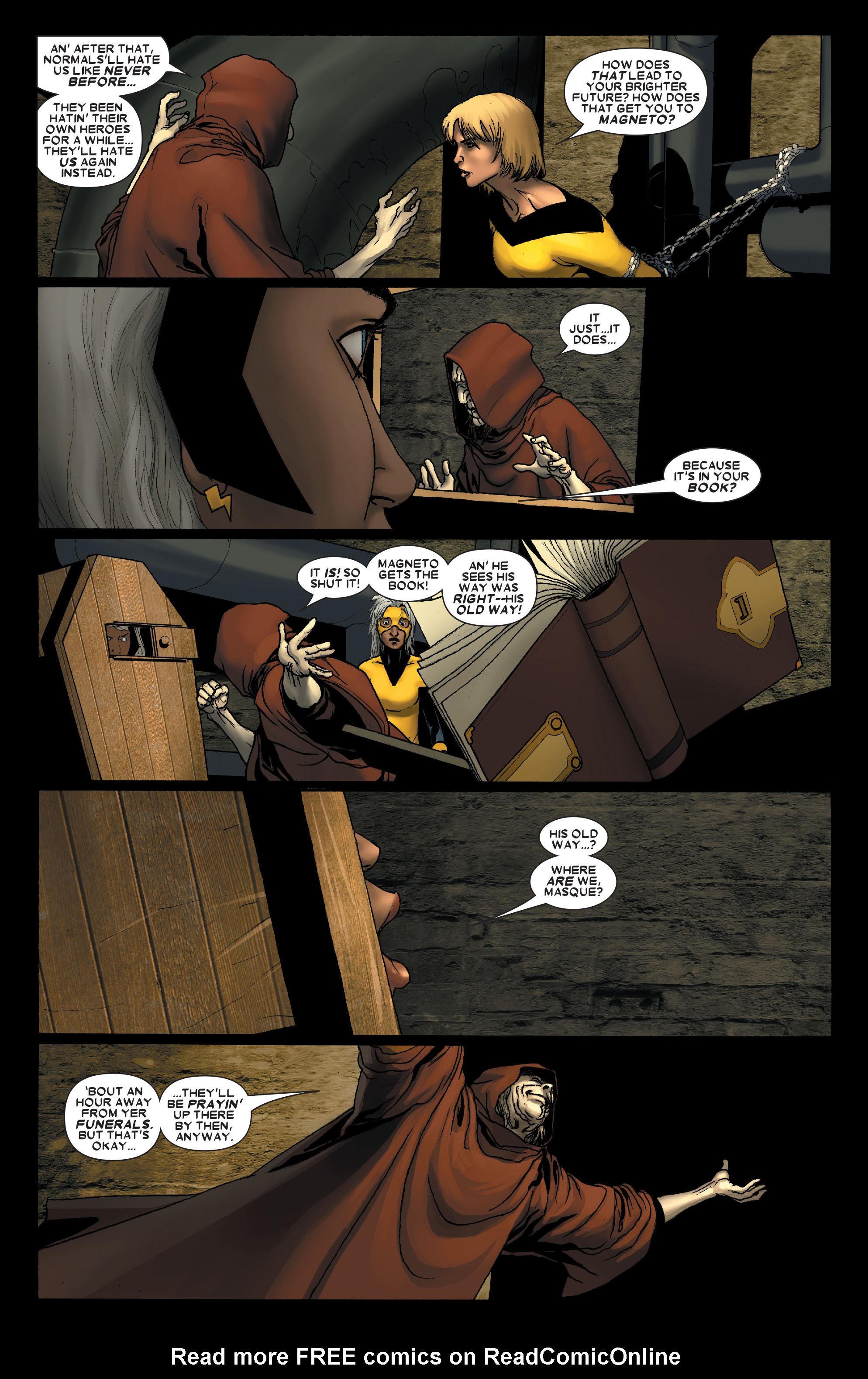 Read online Uncanny X-Men (1963) comic -  Issue #491 - 9