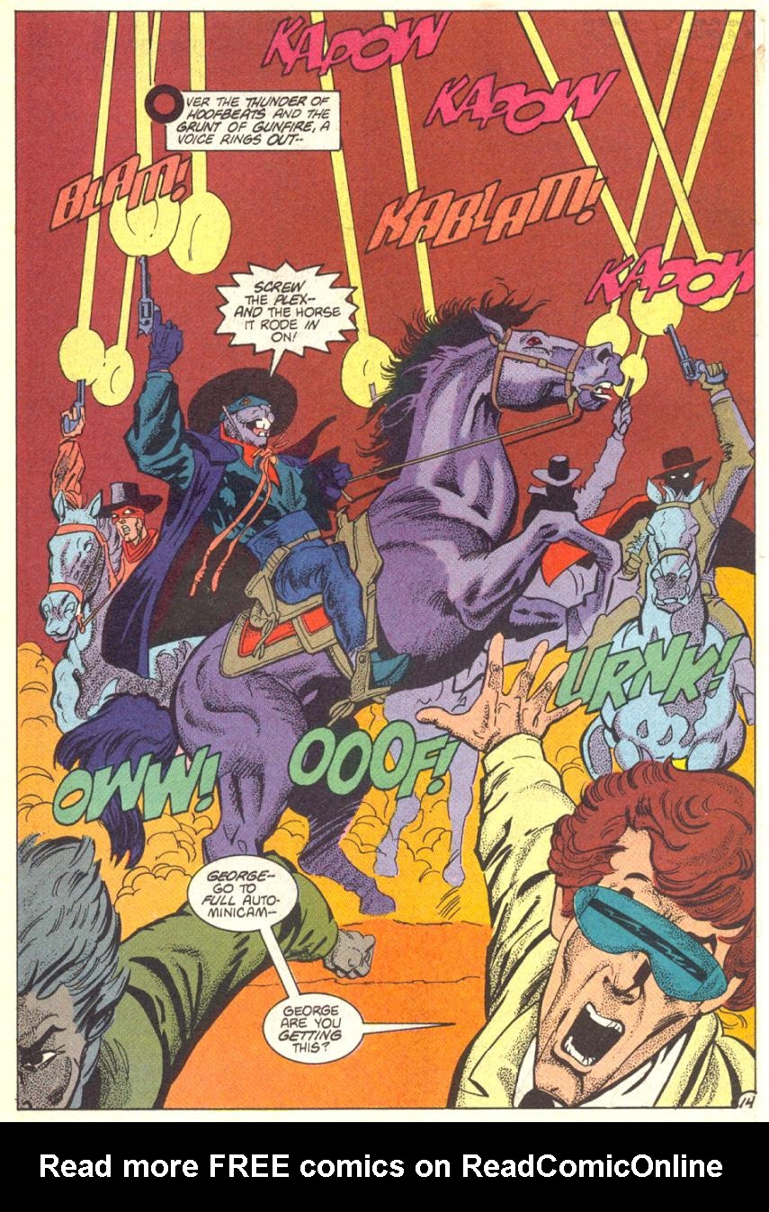 Read online American Flagg! comic -  Issue #14 - 15