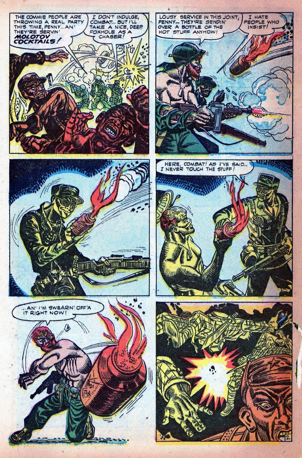 Combat (1952) issue 7 - Page 4