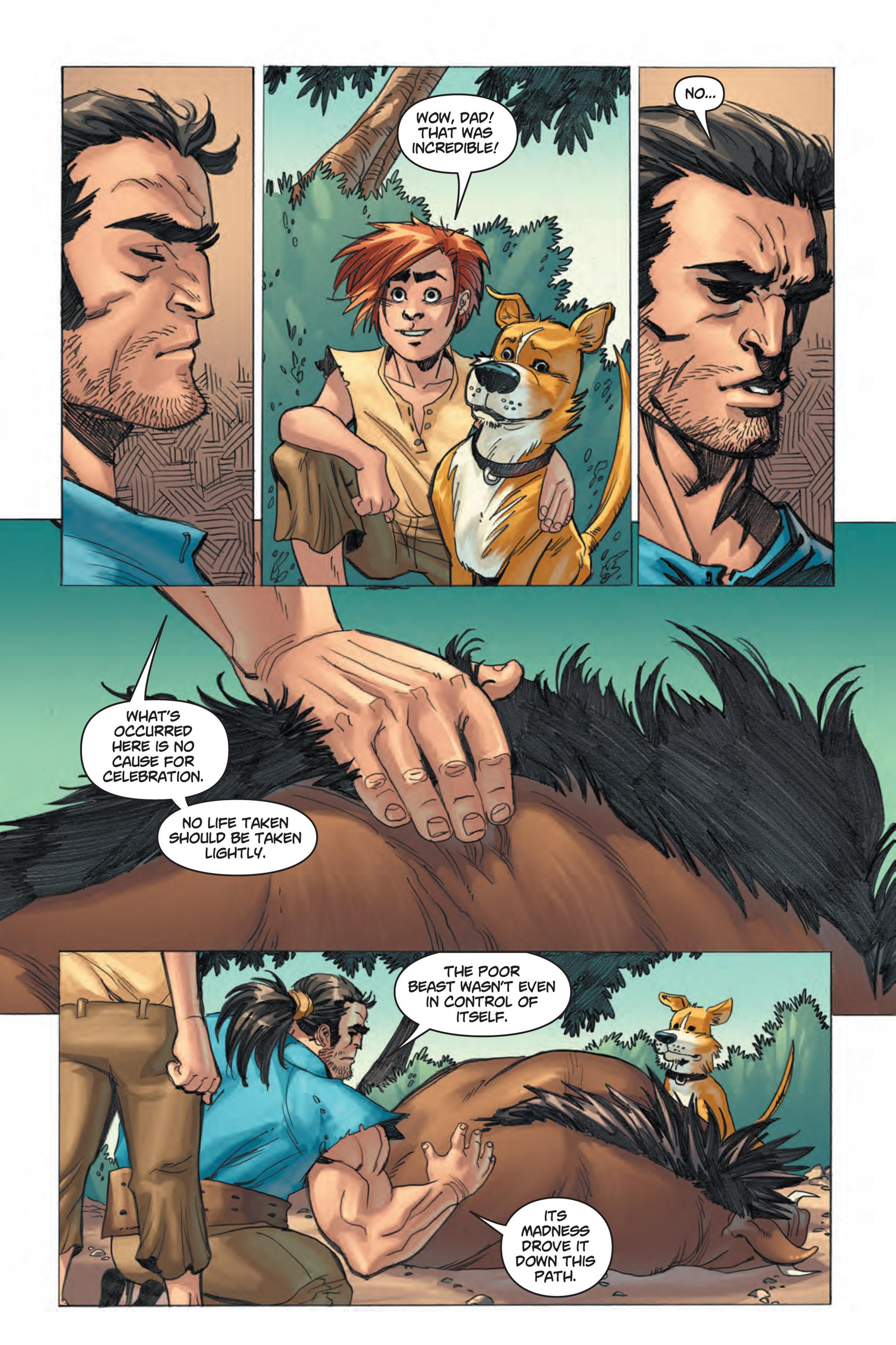 Read online Skyward comic -  Issue #1 - 10