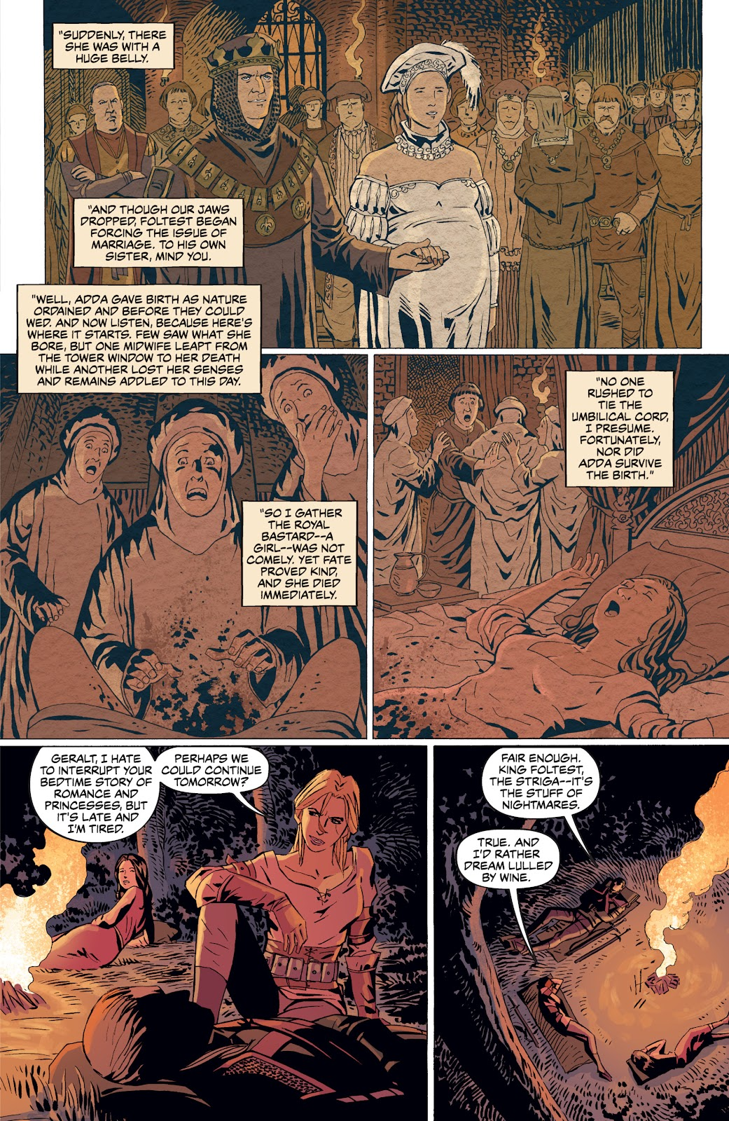 Read online The Witcher Omnibus comic -  Issue # TPB (Part 4) - 10