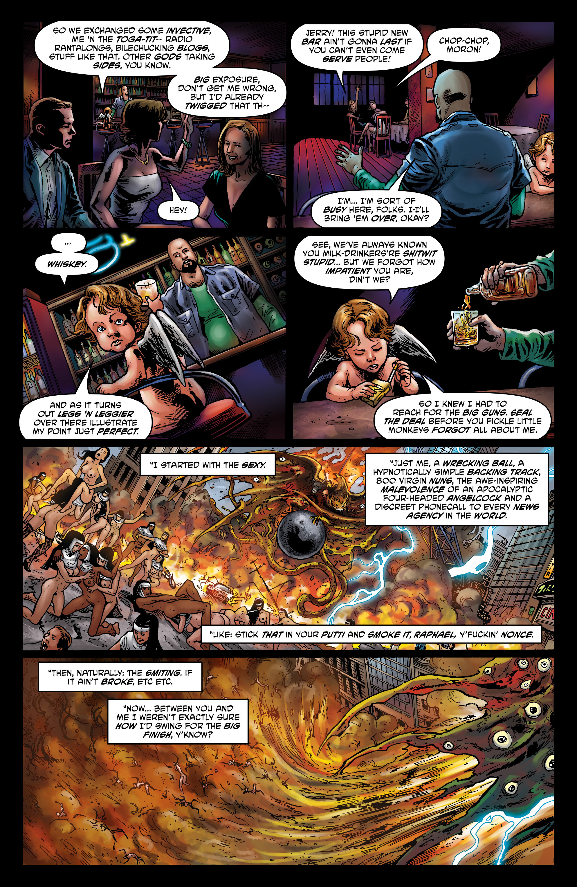 Read online God is Dead: Book of Acts comic -  Issue # Alpha - 44