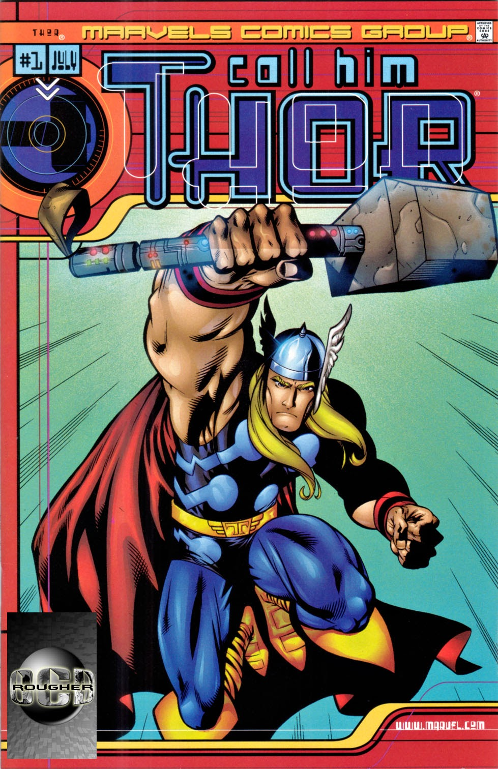 Marvels Comics Thor Page 1
