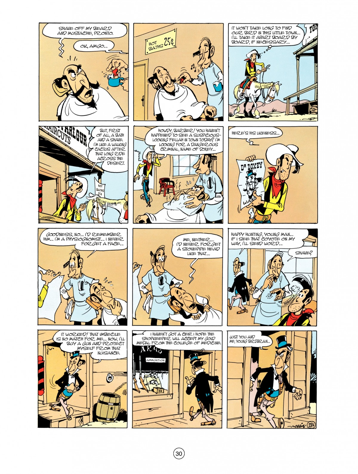 Read online A Lucky Luke Adventure comic -  Issue #38 - 30
