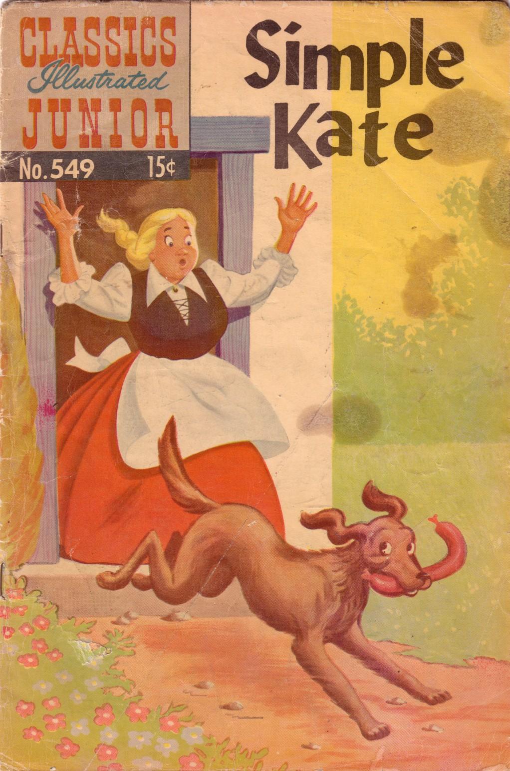 Classics Illustrated Junior 549 Page 1