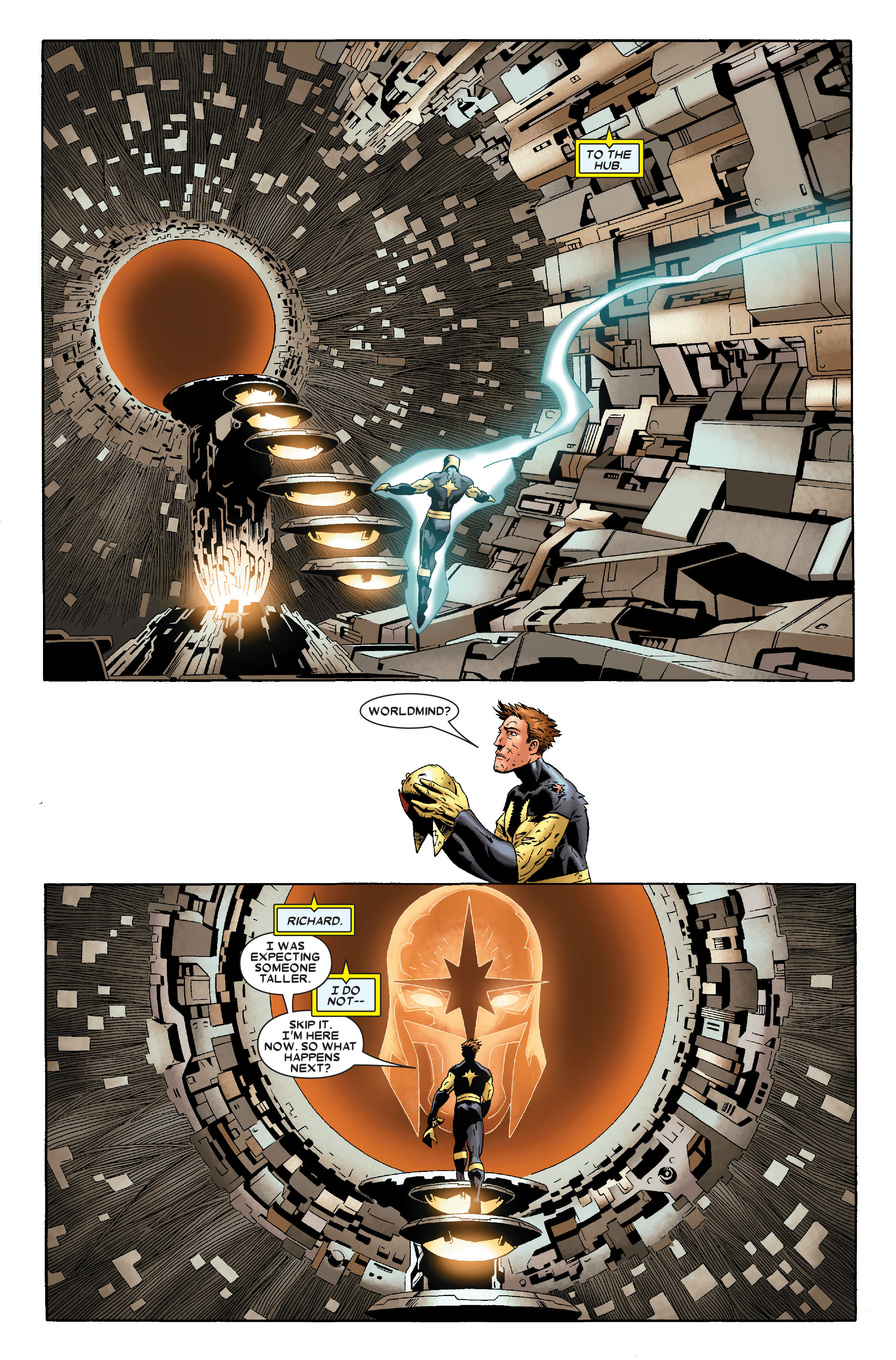 Read online Annihilation: Nova comic -  Issue #1 - 13
