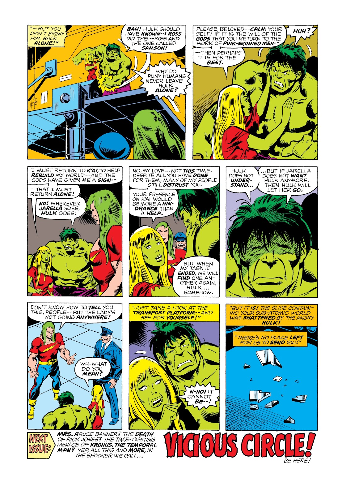 Read online Marvel Masterworks: The Incredible Hulk comic -  Issue # TPB 12 (Part 2) - 72
