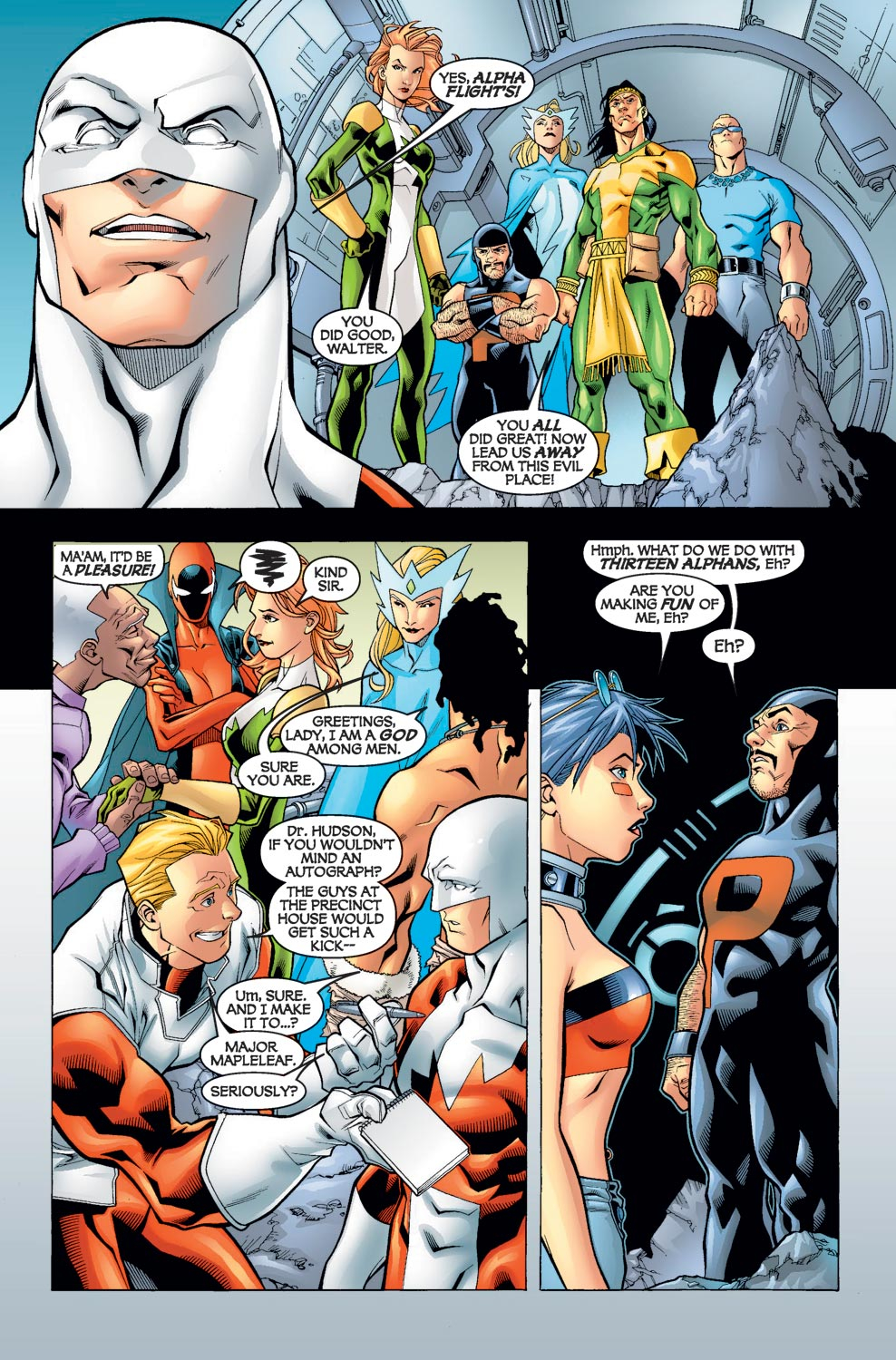 Alpha Flight (2004) issue 5 - Page 10