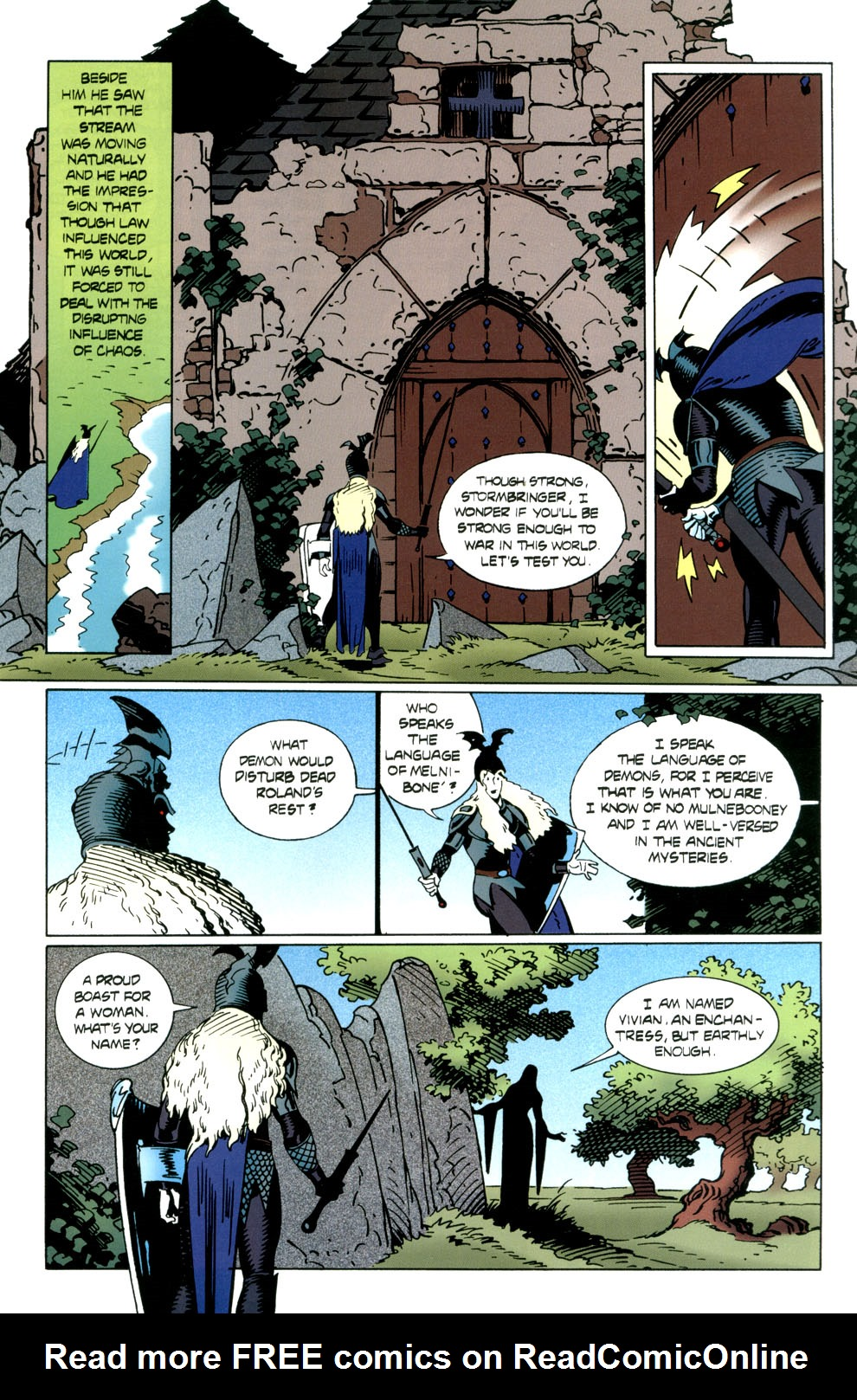 Read online Elric: Stormbringer comic -  Issue #6 - 17