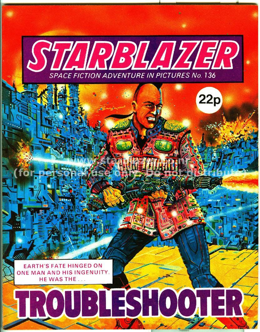 Starblazer issue 136 - Page 1