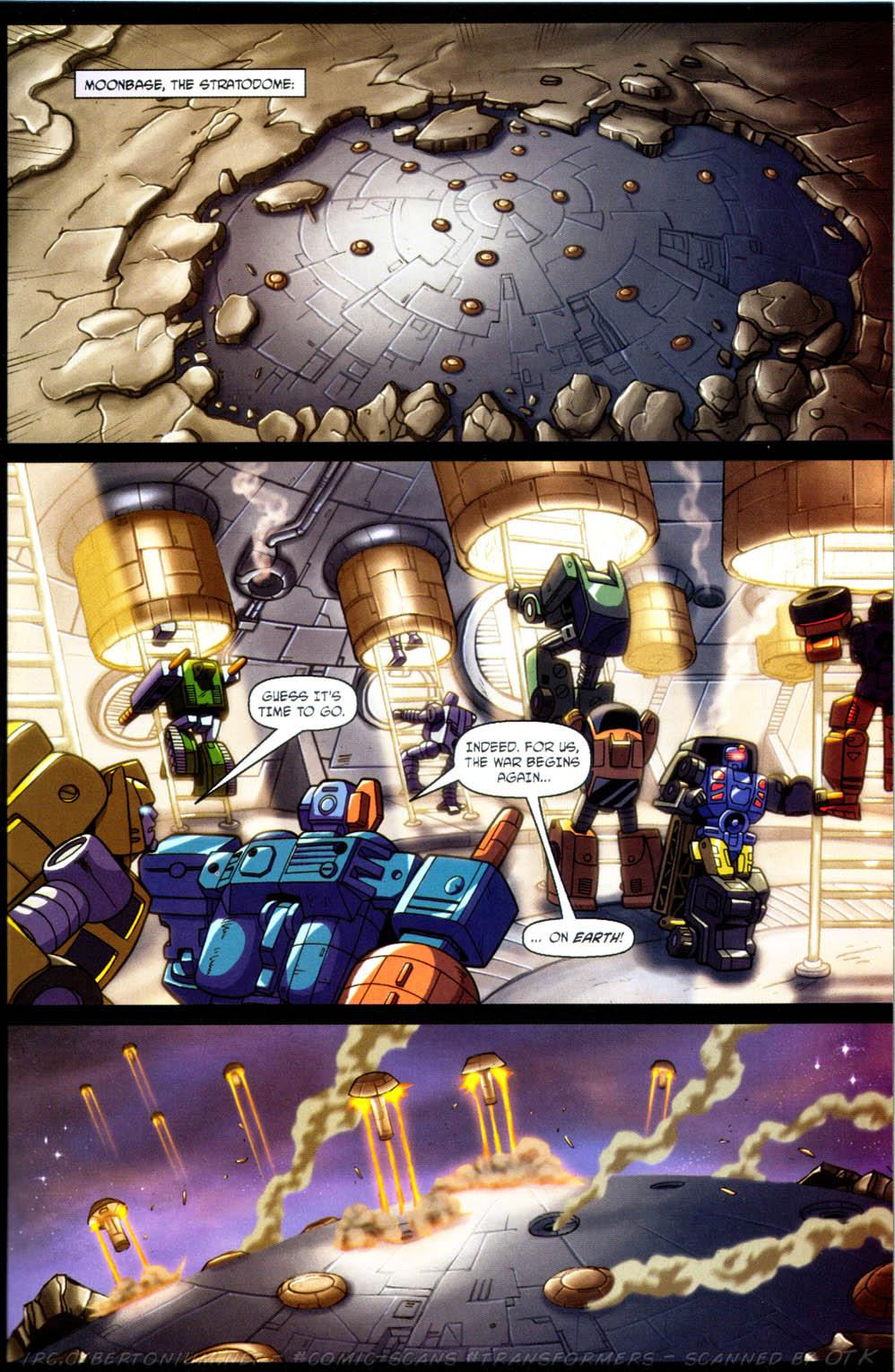 Read online Transformers Armada comic -  Issue #11 - 23