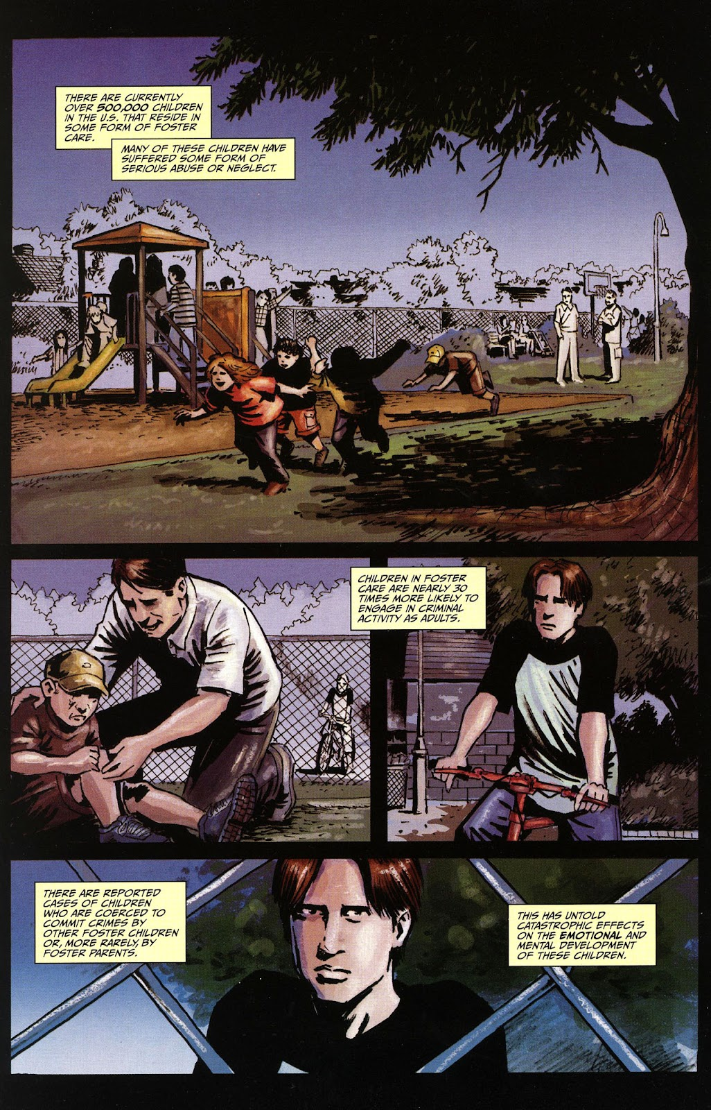 Read online Ward Of The State comic -  Issue #1 - 3