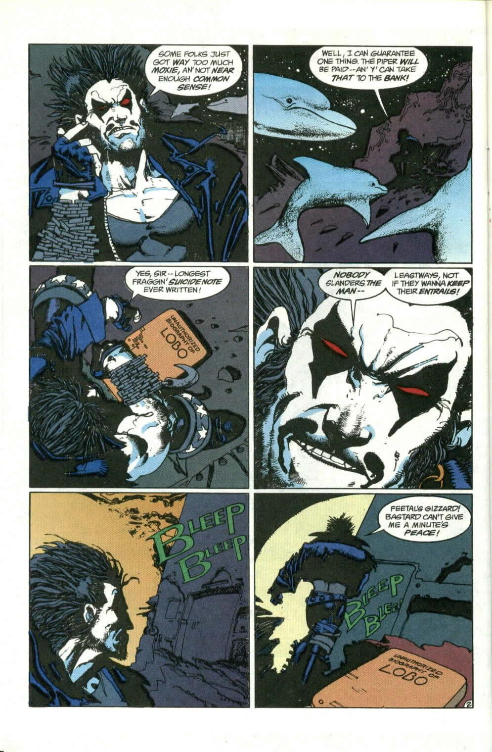 Read online Lobo (1990) comic -  Issue #1 - 3