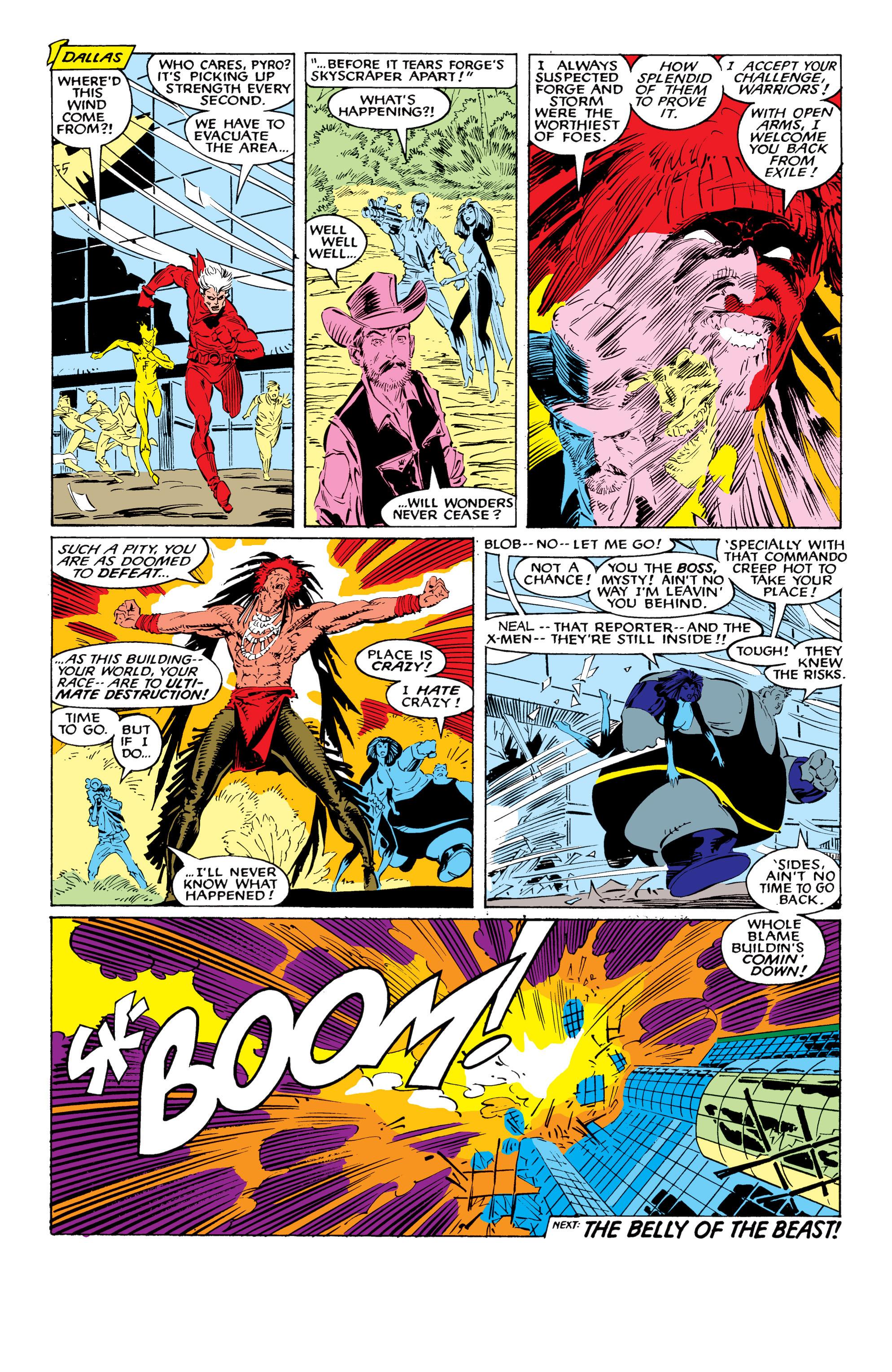 Read online Uncanny X-Men (1963) comic -  Issue #226 - 40