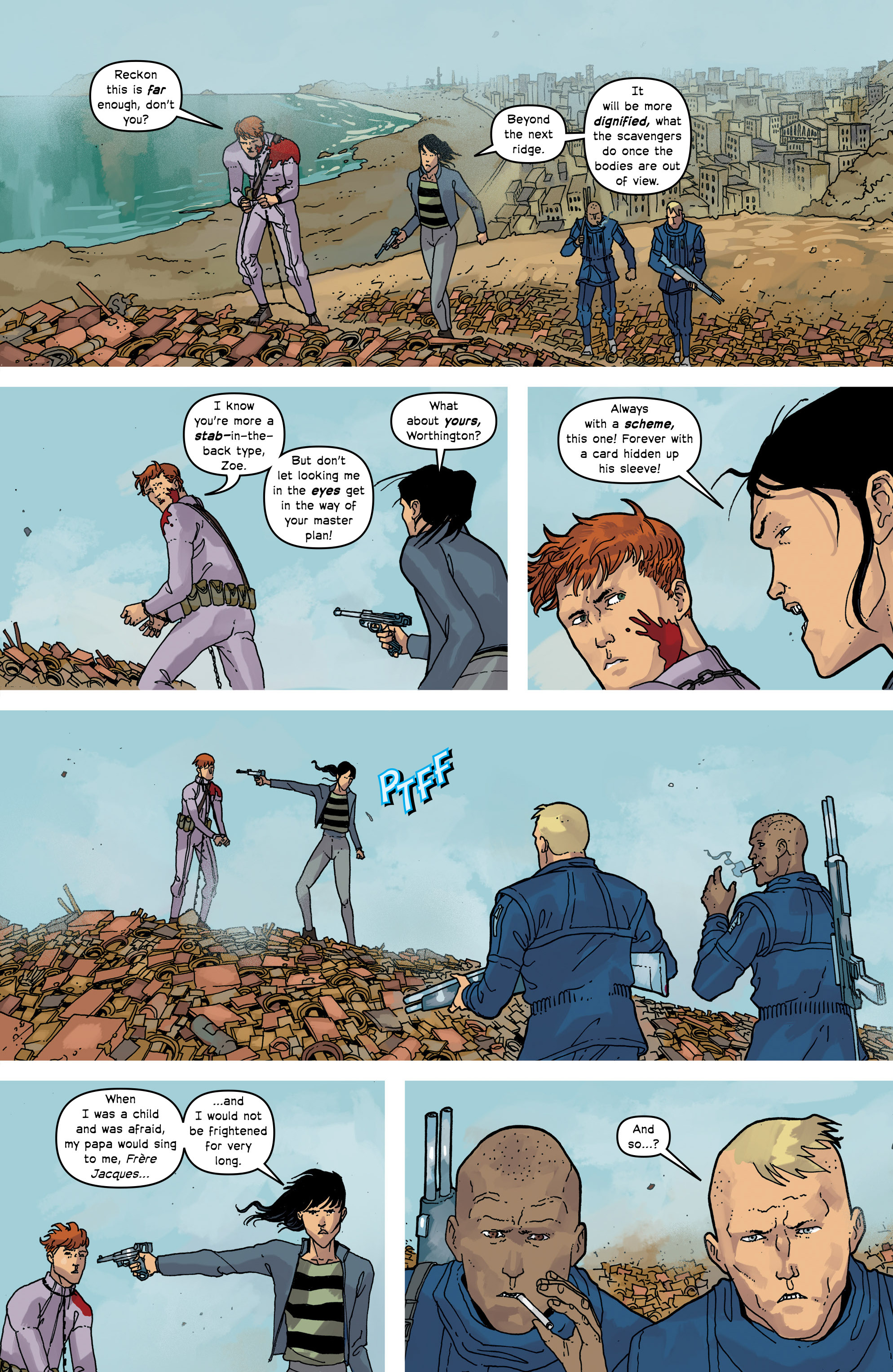 Read online Great Pacific comic -  Issue #16 - 21
