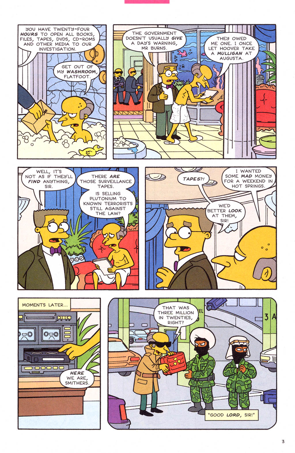 Read online Simpsons Comics comic -  Issue #108 - 4