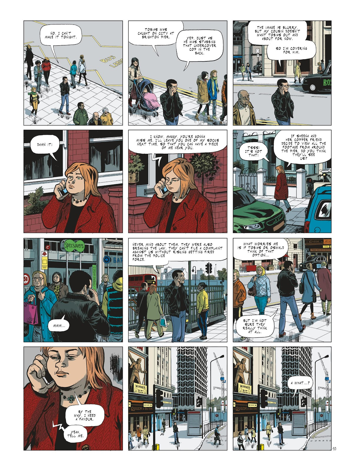 Read online Maggy Garrisson comic -  Issue #2 - 12