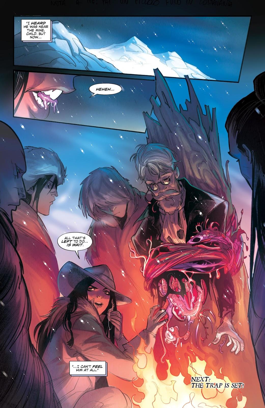 Read online Mirka Andolfo's Mercy comic -  Issue #3 - 29