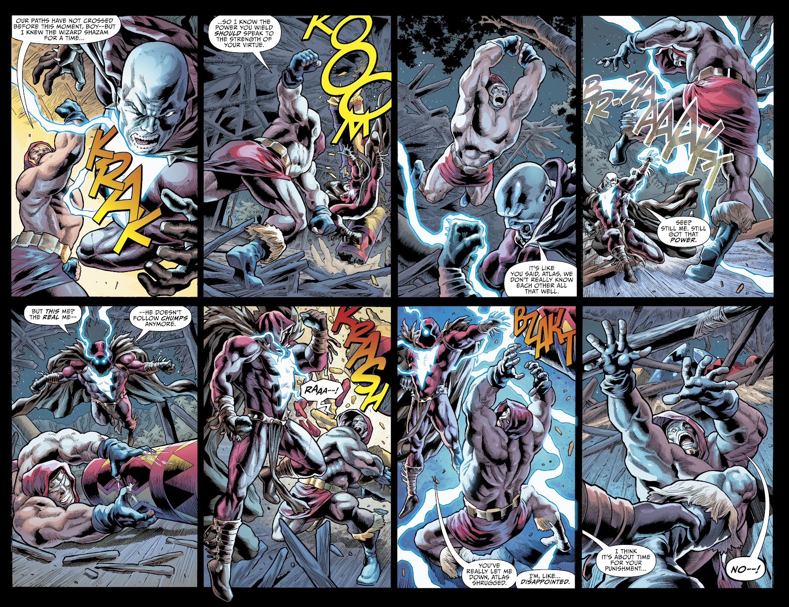 Read online The Infected: King Shazam comic -  Issue # Full - 8