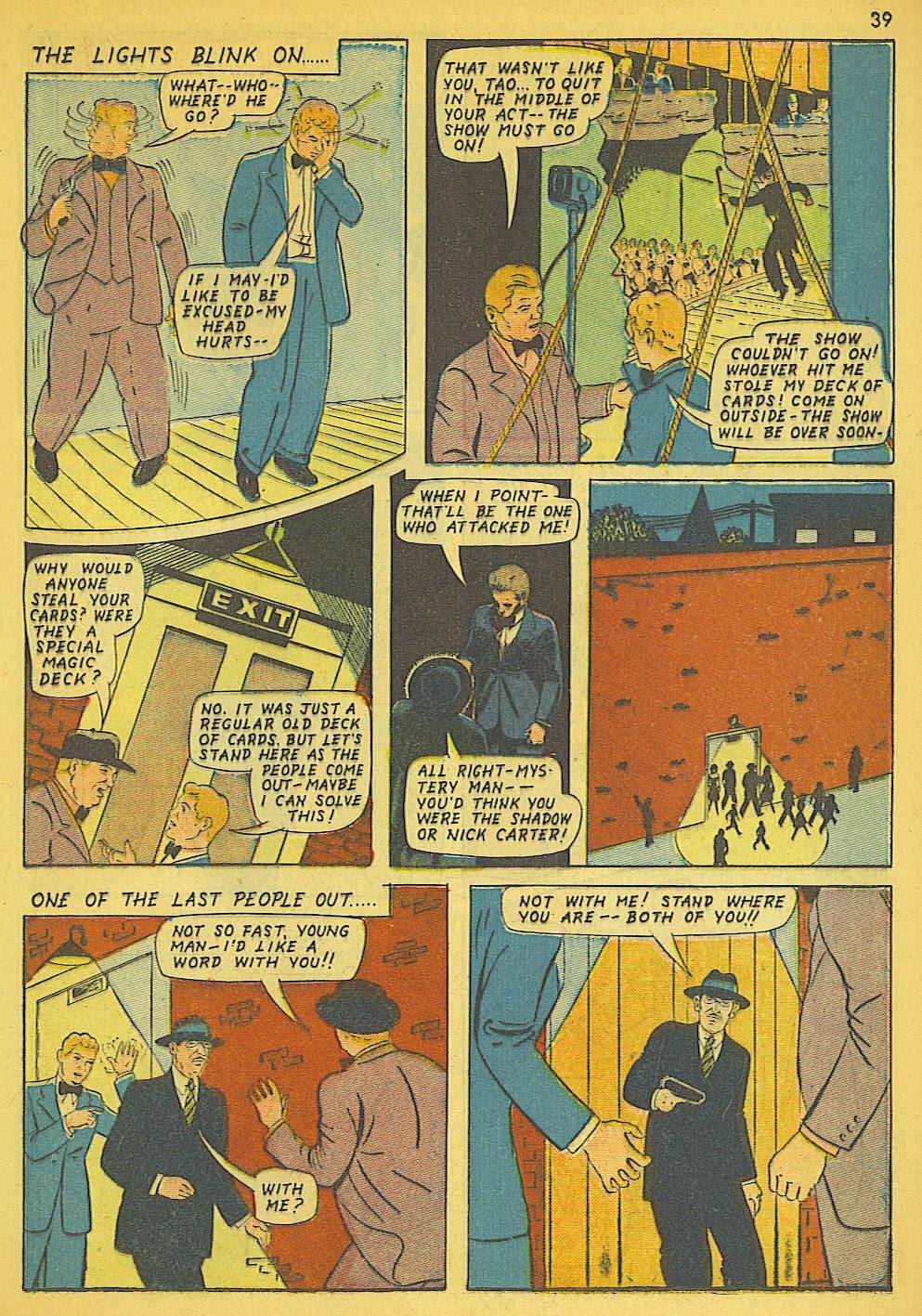 Read online Super-Magician Comics comic -  Issue #19 - 31