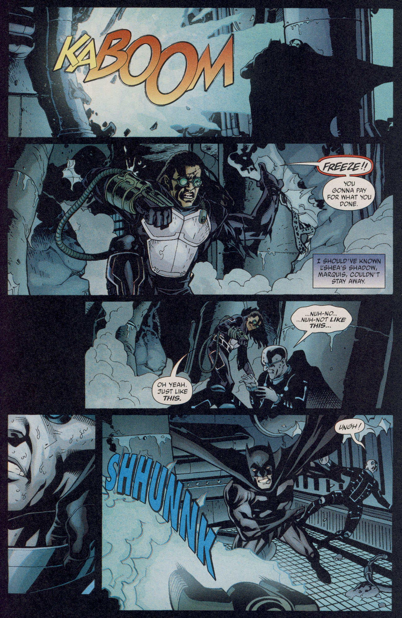 Read online Batman War Drums comic -  Issue # TPB - 91