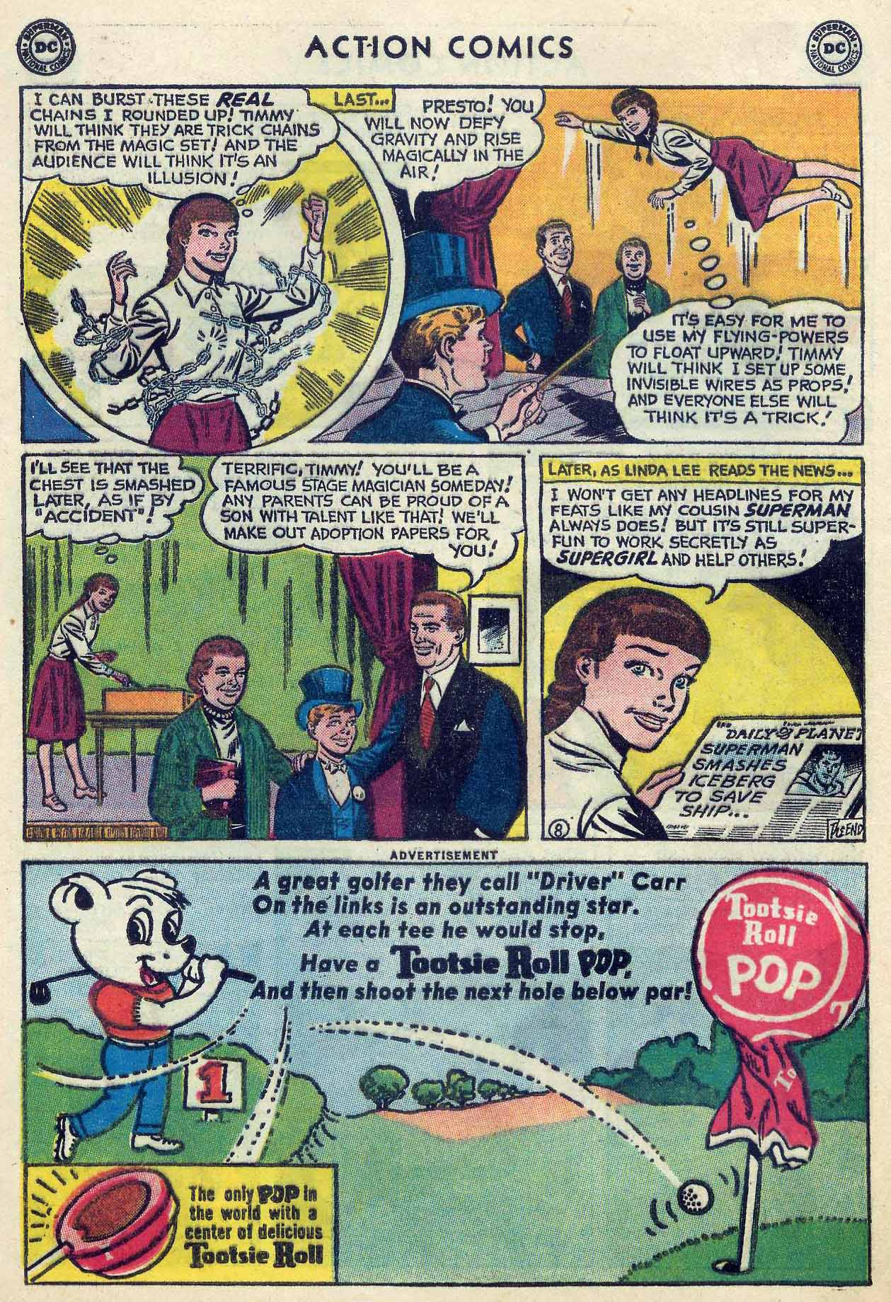 Read online Action Comics (1938) comic -  Issue #253 - 24