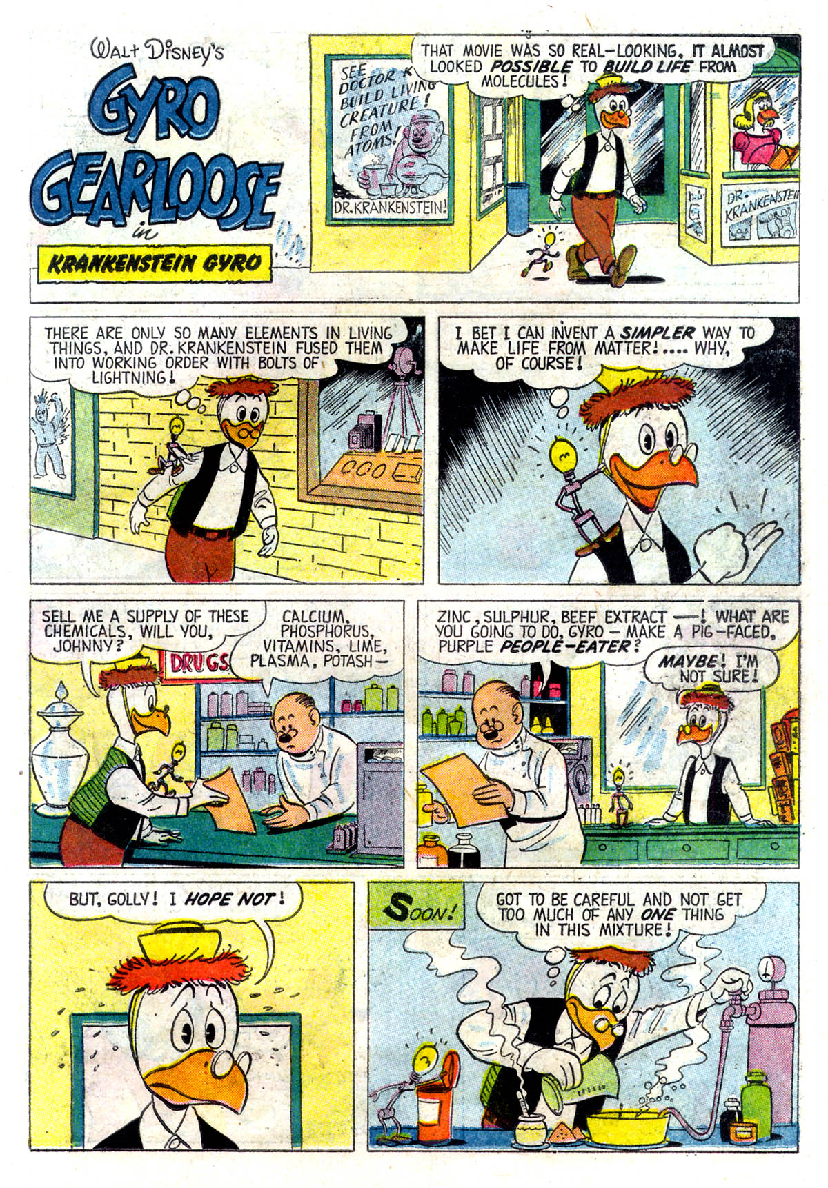 Read online Uncle Scrooge (1953) comic -  Issue #26 - 23