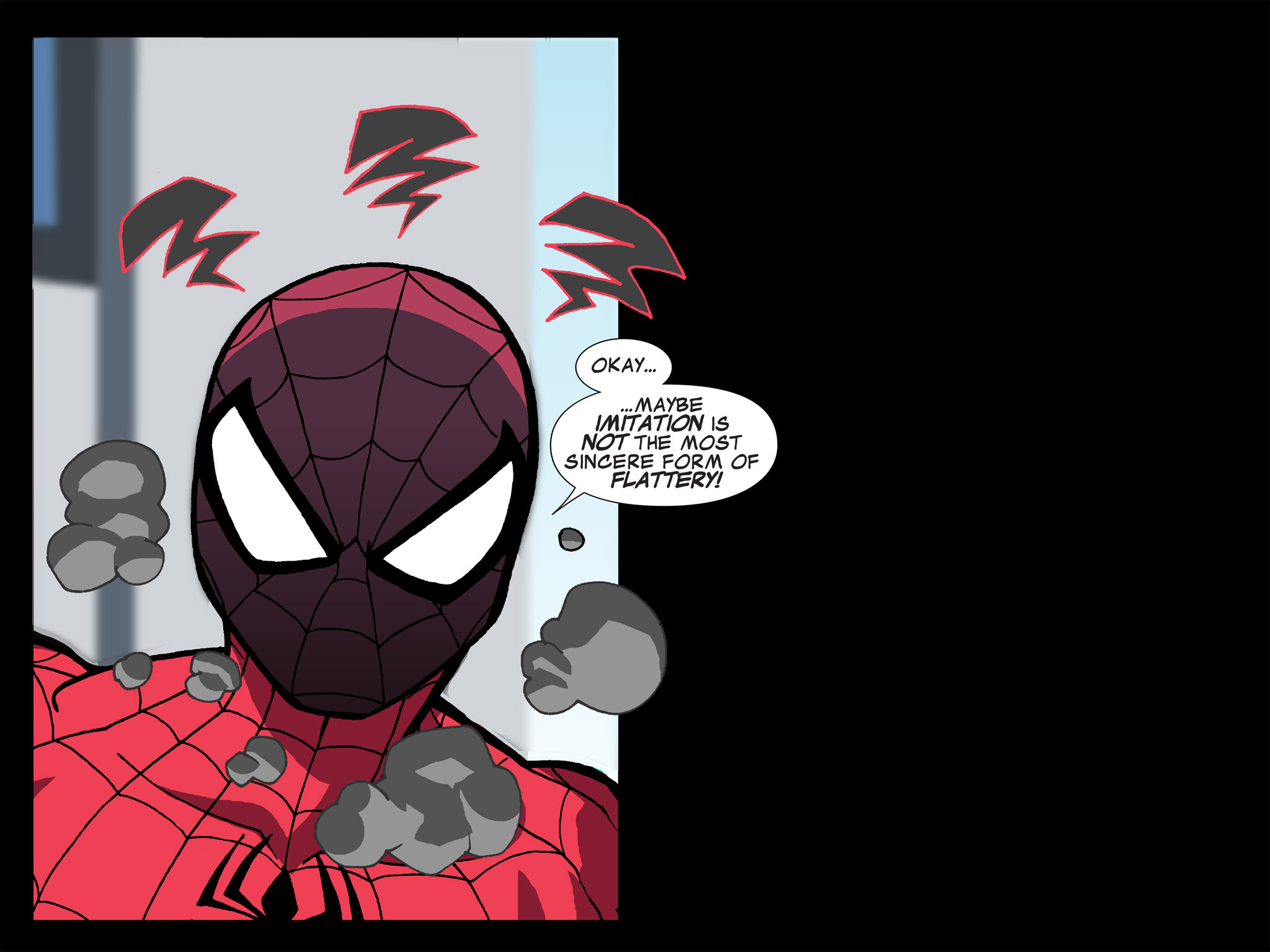 Read online Ultimate Spider-Man (Infinite Comics) (2015) comic -  Issue #13 - 30