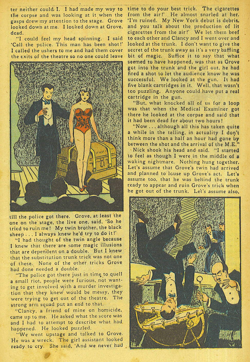 Read online Shadow Comics comic -  Issue #63 - 11