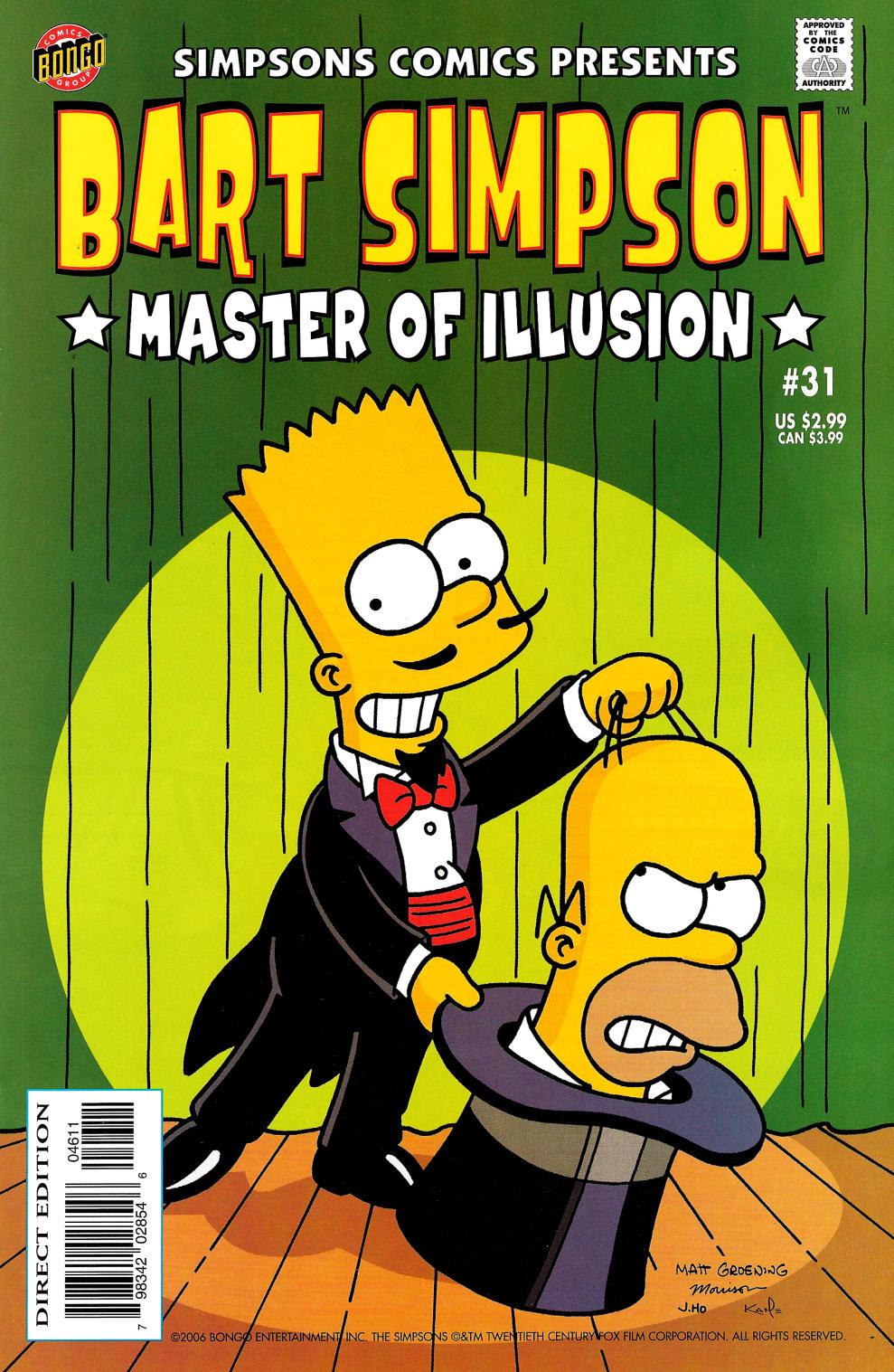 Read online Simpsons Comics Presents Bart Simpson comic -  Issue #31 - 1