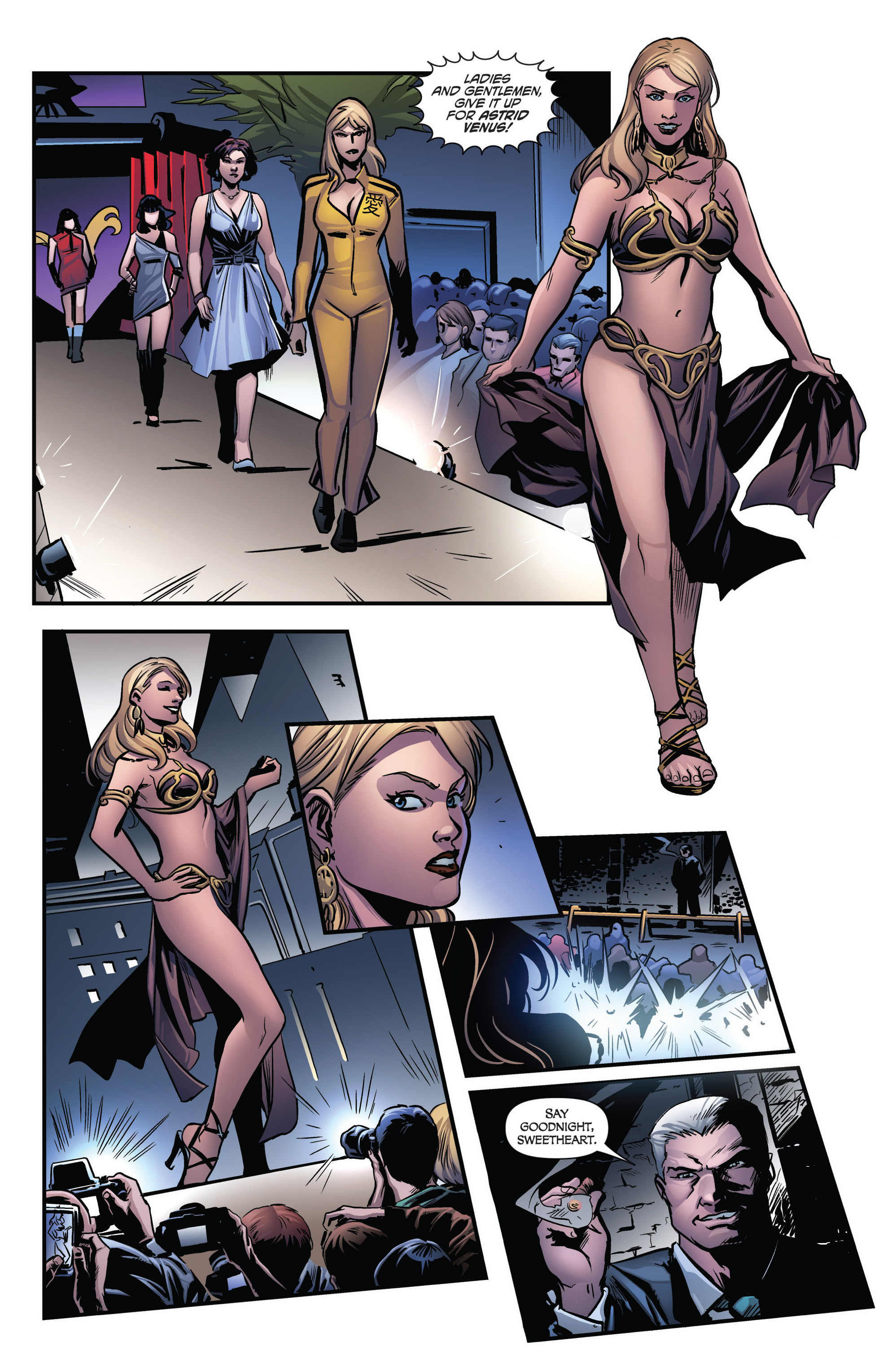 Read online Grimm Fairy Tales presents Goddess Inc. comic -  Issue #3 - 20