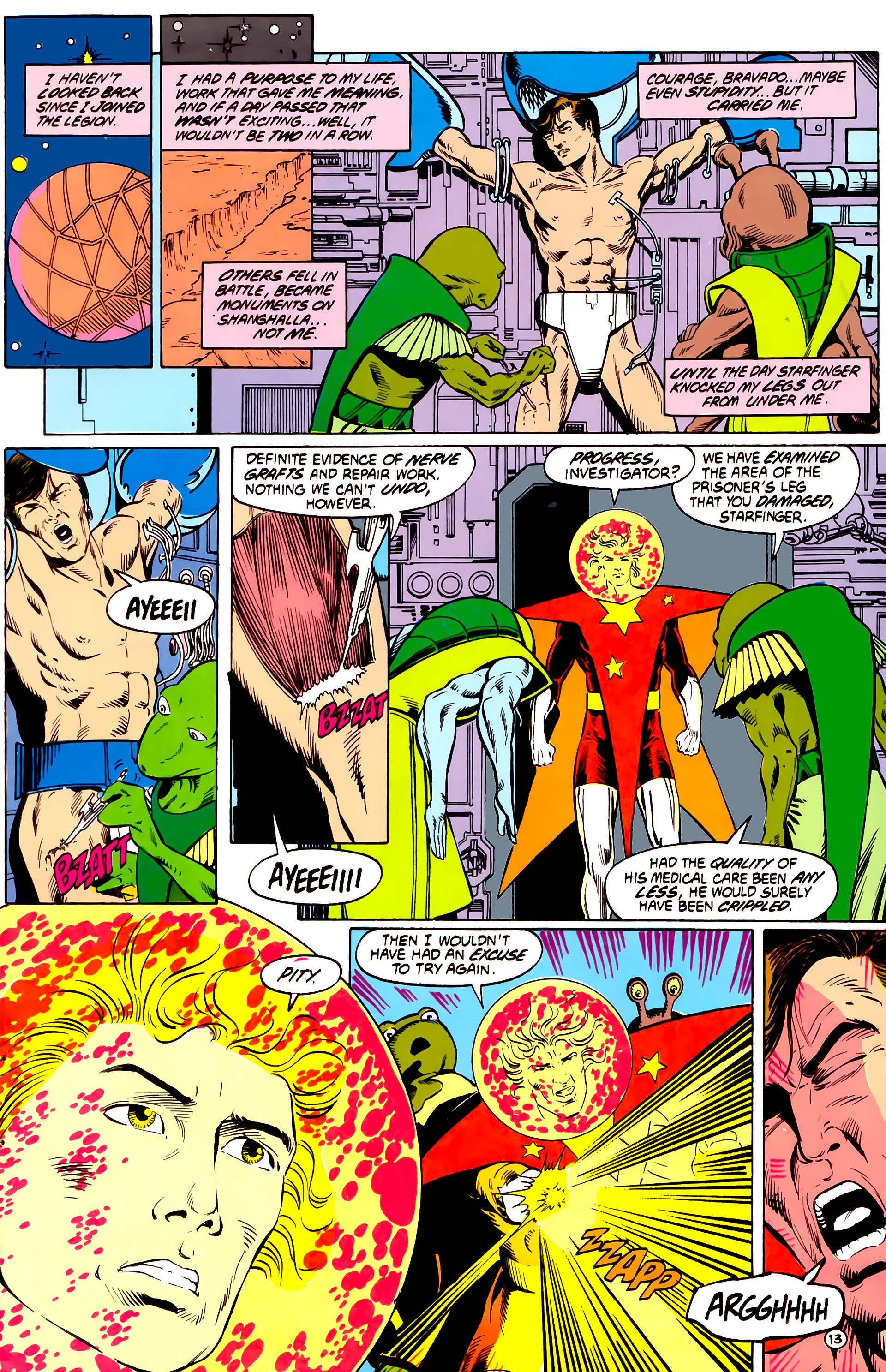 Legion of Super-Heroes (1984) _Annual_4 Page 13