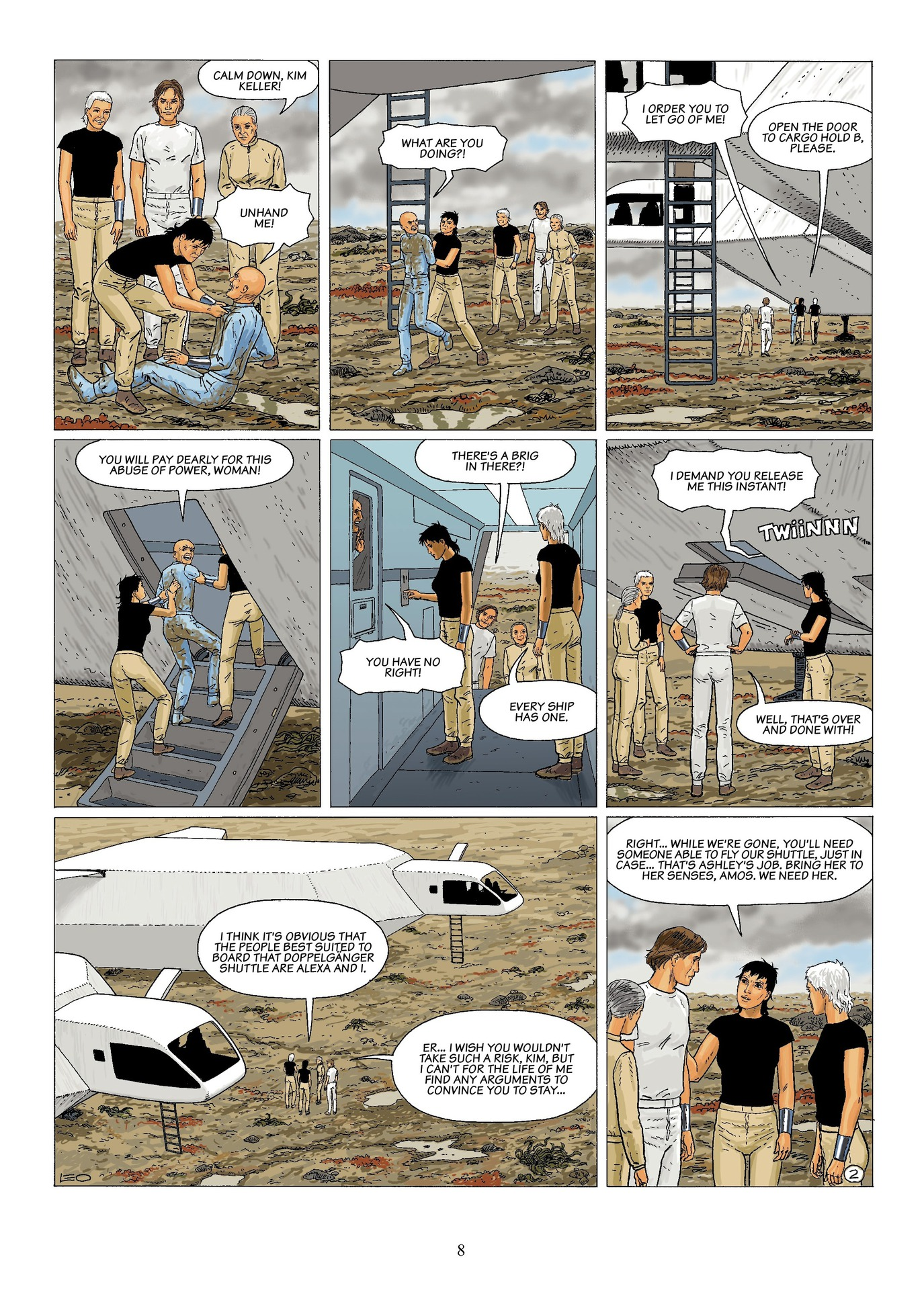 Read online Antares comic -  Issue #6 - 10