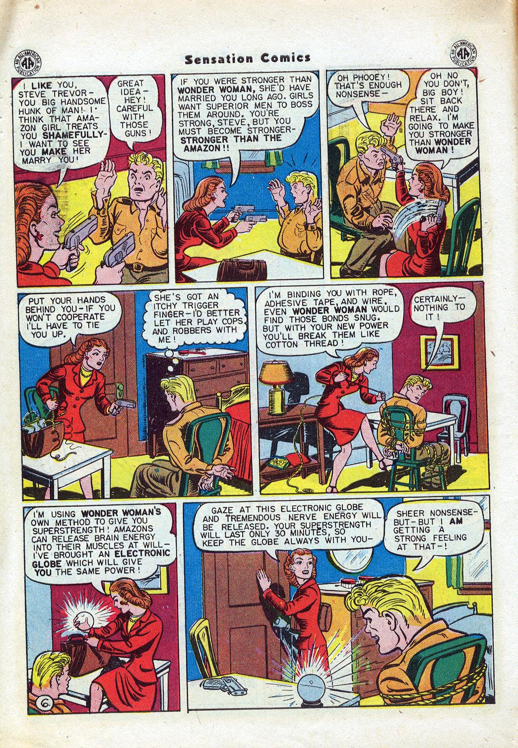 Read online Sensation (Mystery) Comics comic -  Issue #46 - 8
