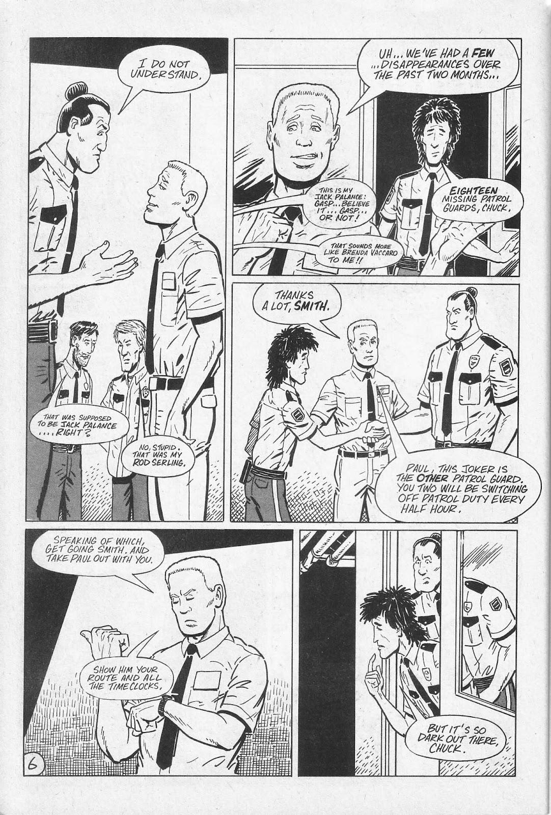 Read online Paul the Samurai (1991) comic -  Issue # TPB - 12