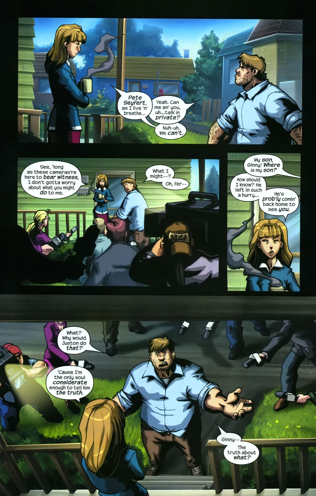 Read online Sentinel (2006) comic -  Issue #3 - 11