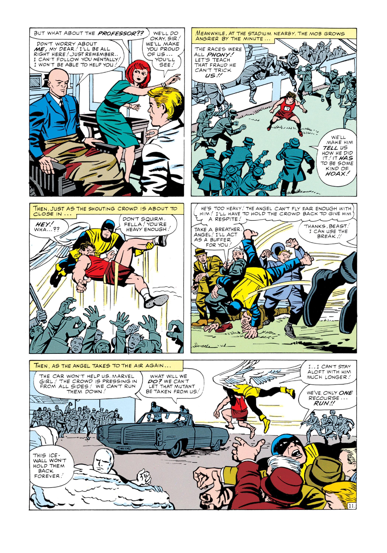 Read online Uncanny X-Men (1963) comic -  Issue #5 - 12