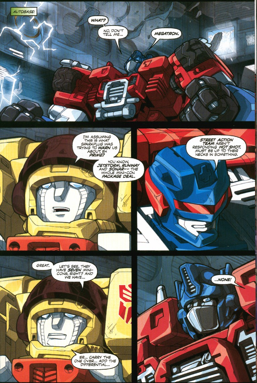 Read online Transformers Armada comic -  Issue #7 - 11