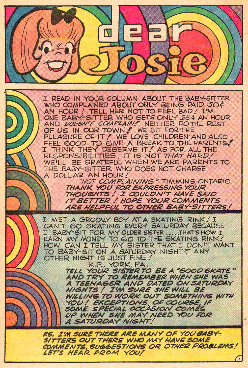 Read online She's Josie comic -  Issue #61 - 32